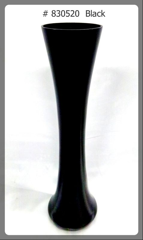 black- glass vase830520