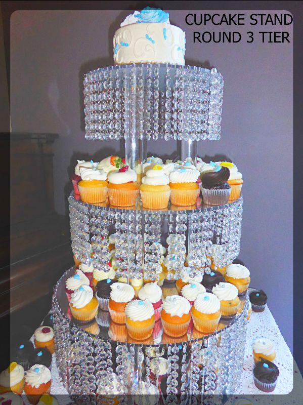 cupcake-stand-3-tier-round. Toronto, Ontario, Canada.