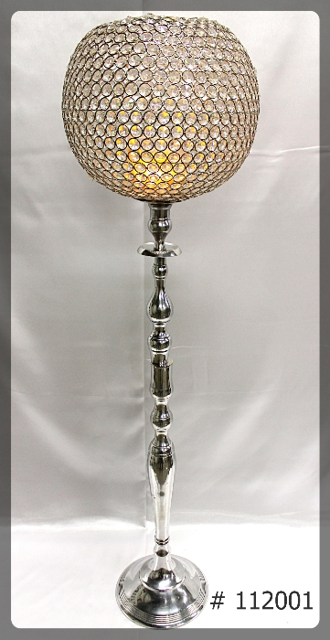 crystal-ball-centerpiece-silver-base-46-inch-112001