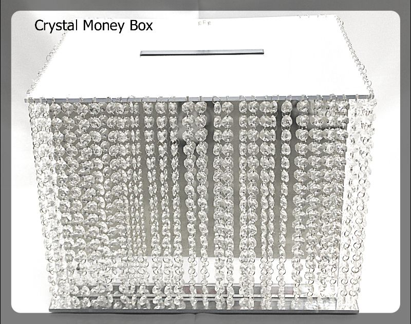 money boxes crystal