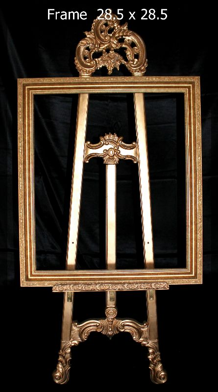 Easel 63 inch with Frame 28.5x28.5 inch