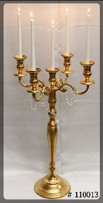 Gold-Candelabra-5-taper-Led-Candles-with-crystals-on-arms-L-39-inch-tall