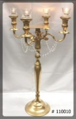 Gold-Candelabra-With-plate-for-Flowers-33-inches-tall-110010