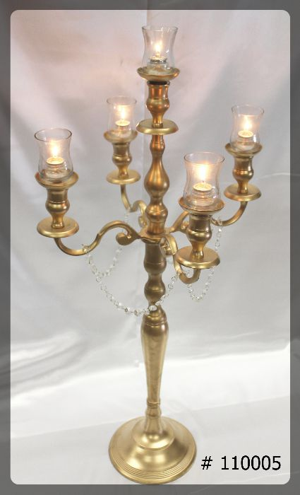 Gold-Candelabra-with-5-glass-votives-38-inches-tall-110005