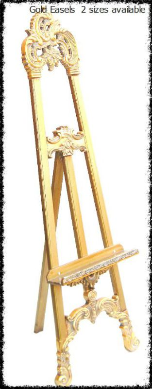 gold-easels