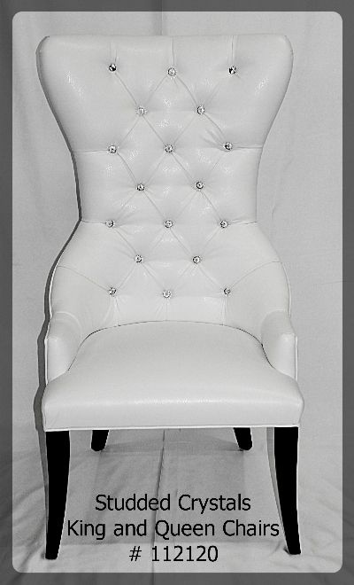 King and Queens Chairs furniture rental