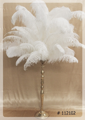 ostrich-feather-centerpiece-with-gold-vase-55-inch-tall-112099