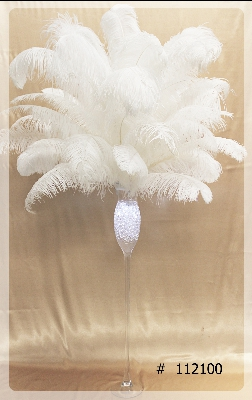 ostrich-feather-centerpiece-with-tall-thin-glass-vase-crystal-gel-inside-and-led-light-65-inch-tall-112100