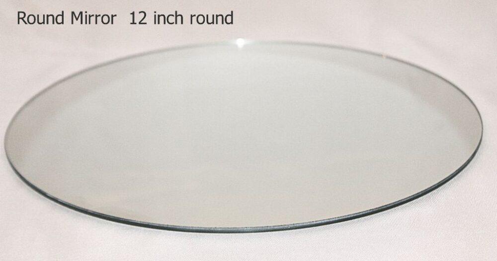 Round Mirror 12 inch round.