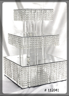 3 tier square wedding cake stands cake stand and cup cake stands wedding decorators toronto 10265
