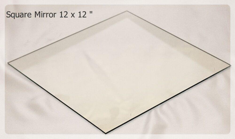square mirror 12x12 inches