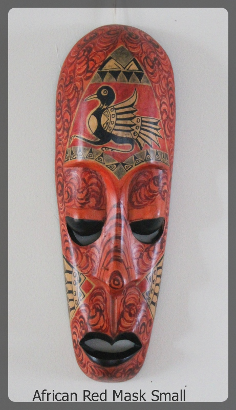 African Red Mask Small furniture rental