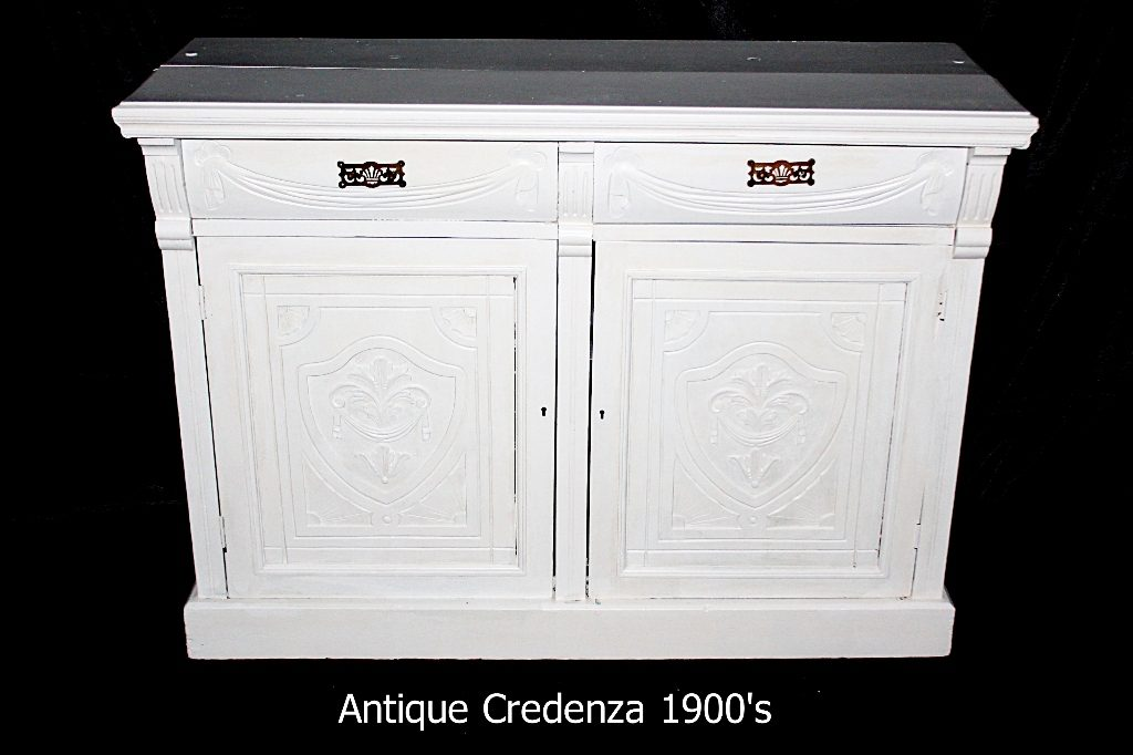 Antique Credenza 1900's furniture rental