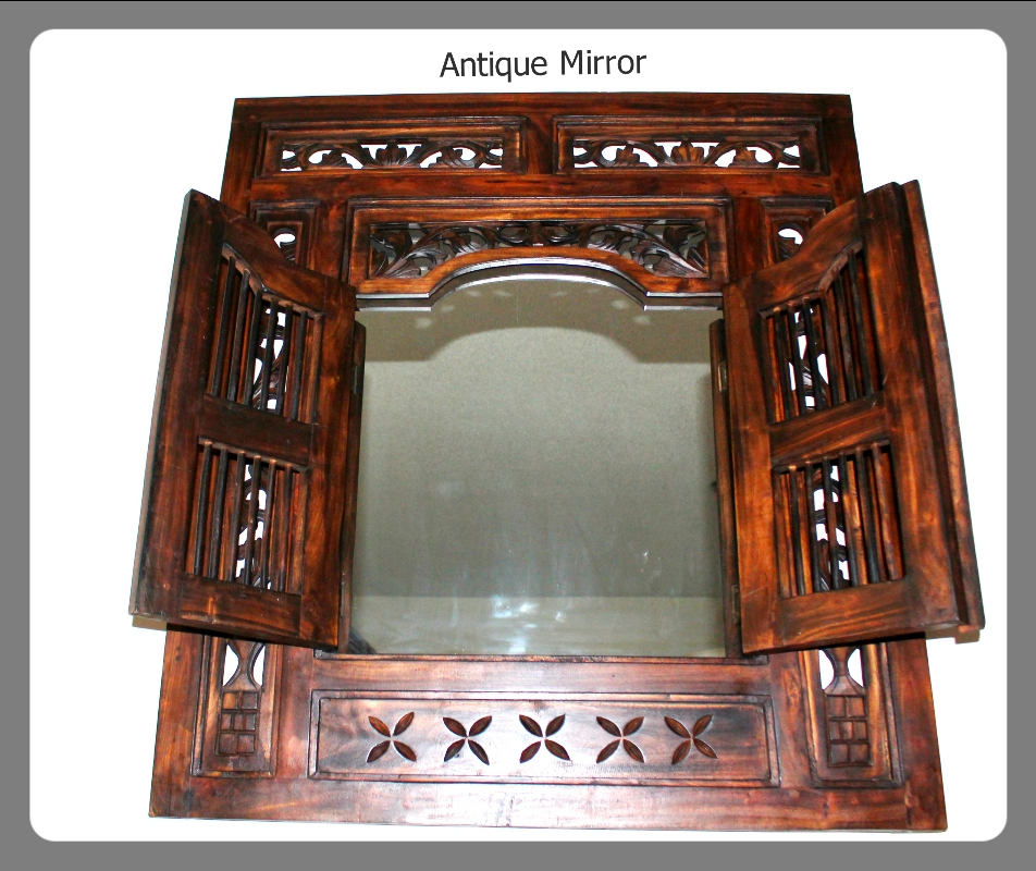 Antique Mirror Moroccan furniture rental