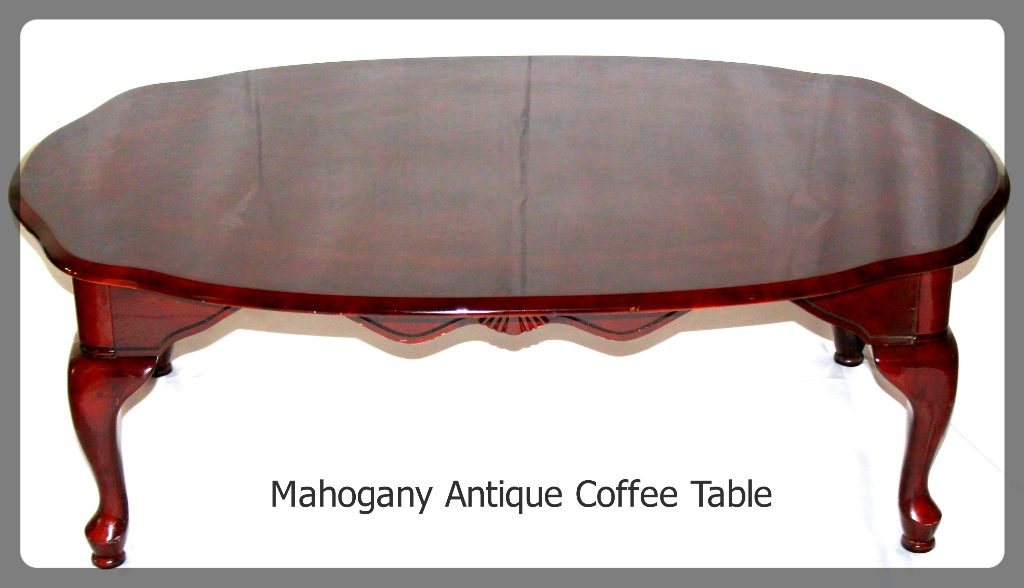 Mahogany Coffee Table furniture rental
