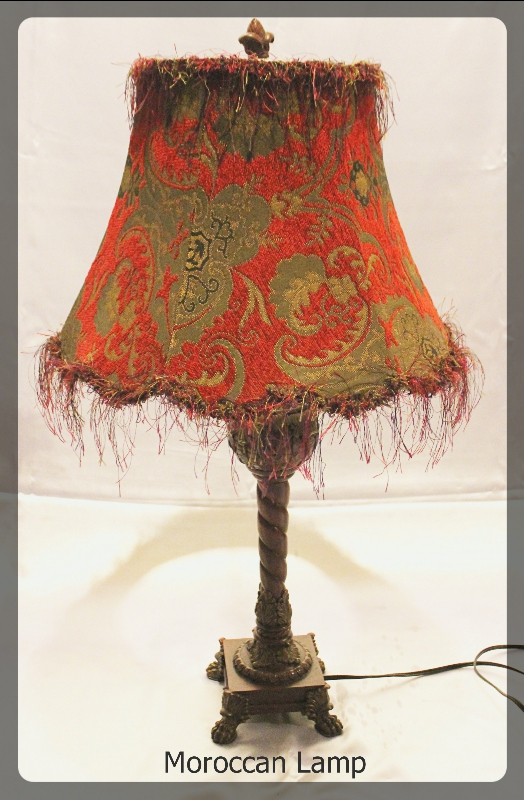 Moroccan Lamp furniture rental