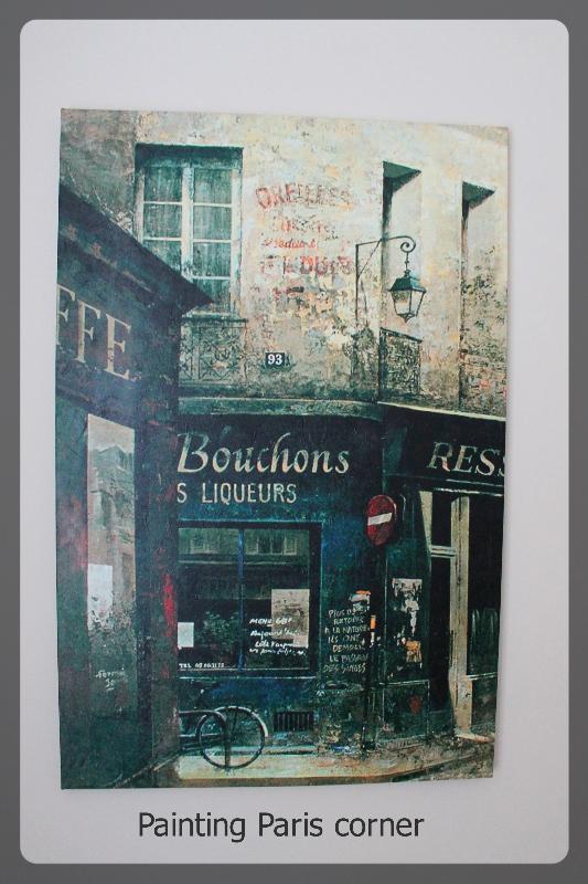 Painting Paris Corner