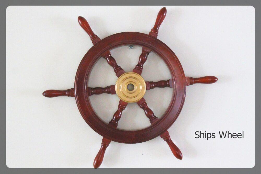 Ships Wheel furniture rental