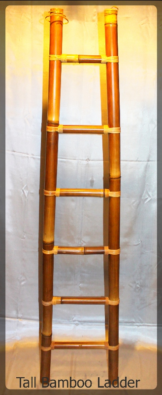 Tall Bamboo Ladder furniture rental