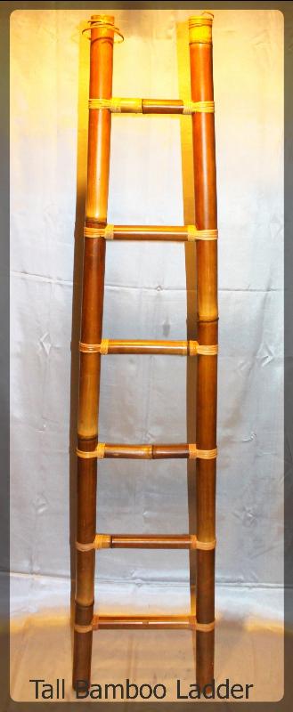 Tall Bamboo Ladder furniture rental
