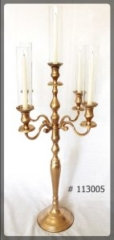 Gold Candelabra for taper candles
