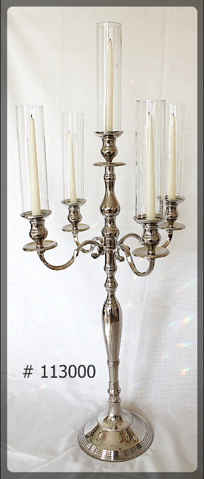 Silver Candelabra for taper candles