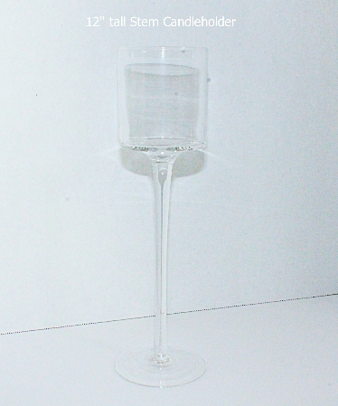 12 inch stem candleholder