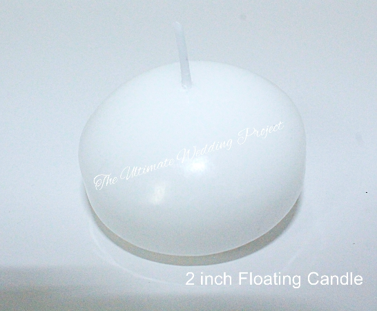 2 inch floating Candle
