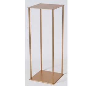 Gold Stand 8x8x38 inch tall