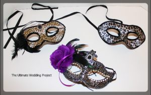 Masks to create a themed event