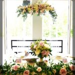 Clear Arch for Florals 84 inch tall x 40-44 inch wide