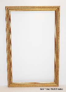 gold frame size 45x28.5 inches