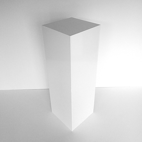 White Pedestal 36 inch tall