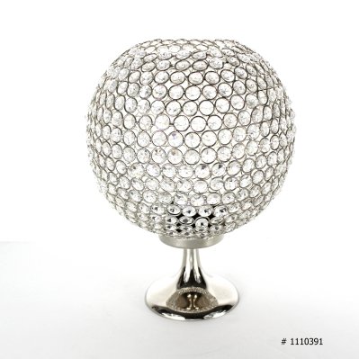 Crystal Ball Centerpiece 14 inch tall # 1110391