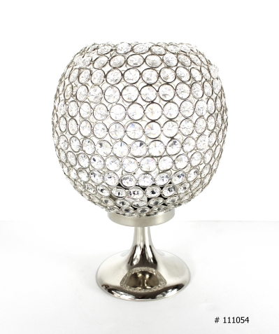 Crystal Ball centerpiece 12 inch tall # 111054