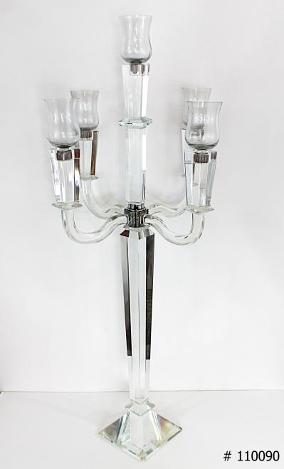 Crystal Candelabra 36 inch tall # 110090