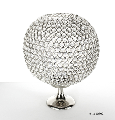 Crystal ball centerpiece 16 inch tall # 1110392