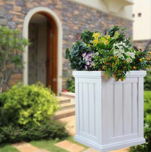 square fiberglass planter 840000