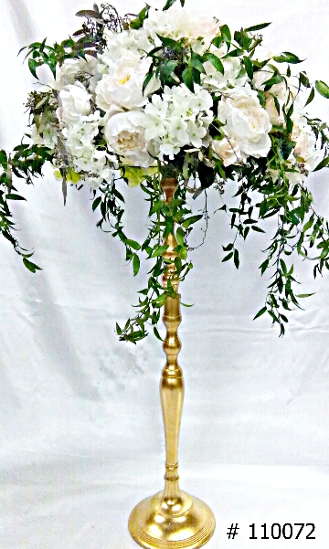 Gold-Stand-35-inches-tall-with-7-inch-plate-for-flower-arrangement