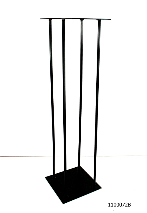 Harlow stand black # 1100072B 8x8x30 inch tall
