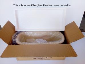 Fiberglass Planters Packaging